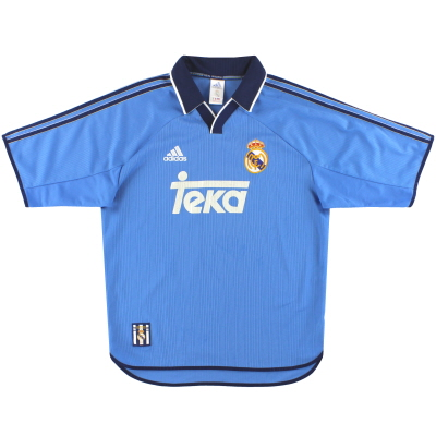 1999-00 Real Madrid adidas Third Shirt M