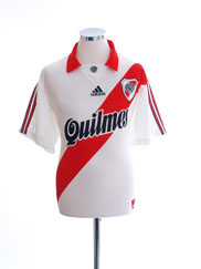 1999-00 River Plate Home Shirt L