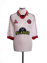 1999-00 Sheffield United Away Shirt XXL