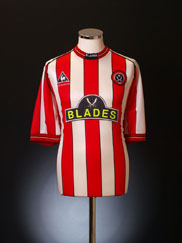 1999-00 Sheffield United Home Shirt S