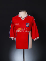 1999-00 St Patrick's Athletic Home Shirt XL