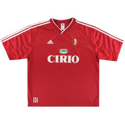 1999-00 Standard Liege adidas Home Shirt XXL