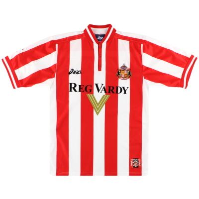 1999-00 Sunderland Asics Home Shirt *Mint* S