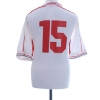1999-00 Switzerland Match Issue Away Shirt #15 XL