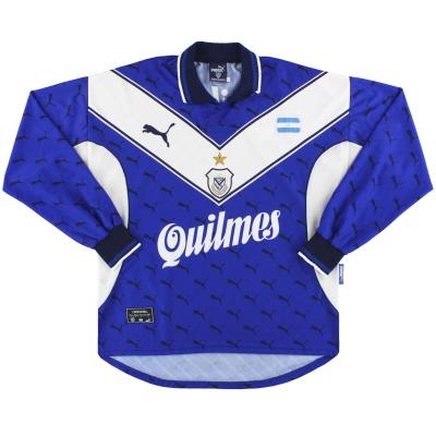 1999-00 Velez Sarsfield Puma Away Shirt L/S L