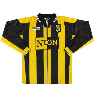 1999-00 Vitesse Uhlsport Home Shirt L/S XL