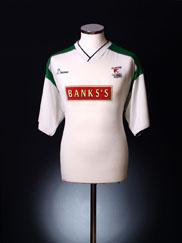 1999-00 Walsall Away Shirt L