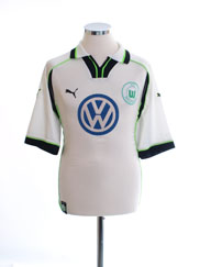 1999-00 Wolfsburg Away Shirt L
