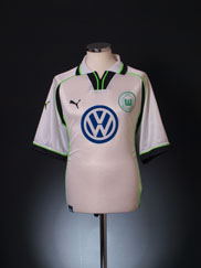 1999-00 Wolfsburg Home Shirt L