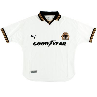 1999-00 Wolves Away Shirt L