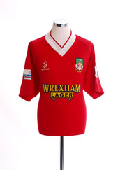 1999-00 Wrexham Millennium Home Shirt L