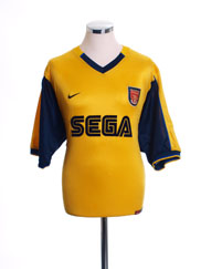 1999-01 Arsenal Away Shirt #9 L.Boys