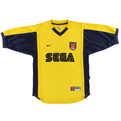 1999-01 Arsenal Away Shirt S