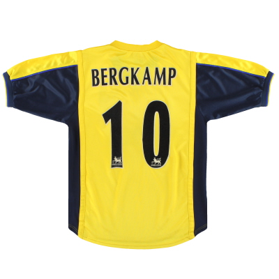 1999-01 Arsenal Nike Away Shirt Bergkamp #10 XL.Boys