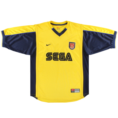 1999-01 Arsenal Nike Away Shirt M