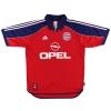 1999-01 Bayern Munich adidas Home Shirt Lemke #6 S