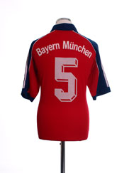 1999-01 Bayern Munich Home Shirt #5 *Mint* L