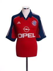 1999-01 Bayern Munich Home Shirt *Mint* L