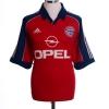 1999-01 Bayern Munich Home Shirt Elber #9 XL