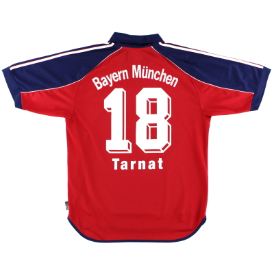 1999-01 Bayern Munich Home Shirt Tarnat #18 M