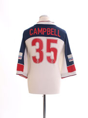 1999-01 Bolton Home Shirt Campbell #35 XL