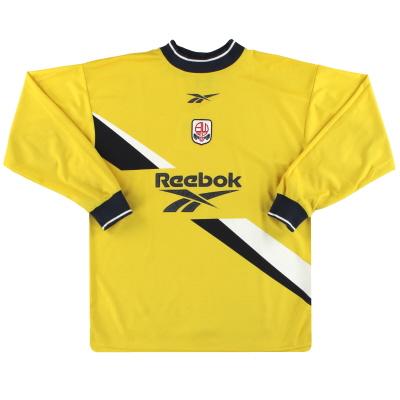 1999-01 Bolton Reebok Goalkeeper Shirt S
