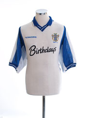 1999-01 Bury Home Shirt *Mint* XL