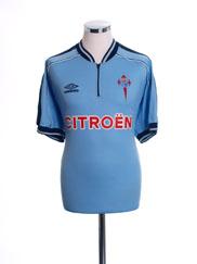 1999-01 Celta Vigo Home Shirt XL