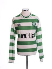 1999-01 Celtic Home Shirt L/S XL