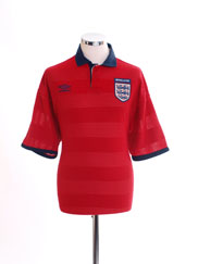 1999-01 England Away Shirt L