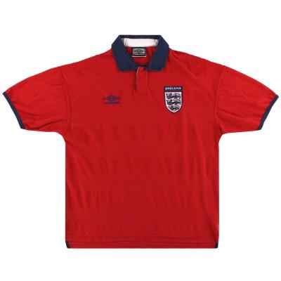 1999-01 England Umbro Away Shirt XXL
