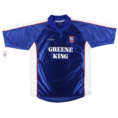 1999-01 Ipswich Home Shirt *w/tags* XL