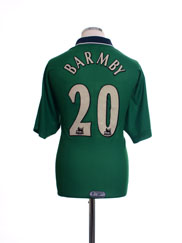 1999-01 Liverpool Away Shirt Barmby #20 M
