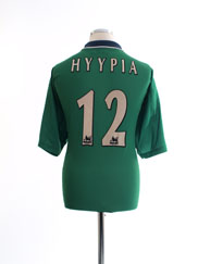 1999-01 Liverpool Away Shirt Hyypia #12 L