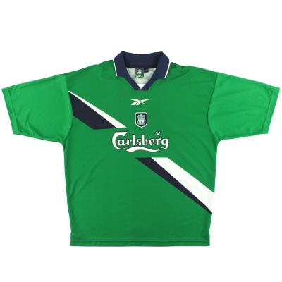 1999-01 Liverpool Away Shirt L