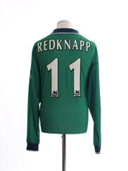 1999-01 Liverpool Away Shirt Redknapp #11 L/S XL