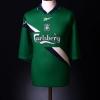 1999-01 Liverpool Match Issue Away Shirt Henchoz #2 XL