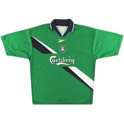 1999-01 Liverpool Reebok Away Shirt XL