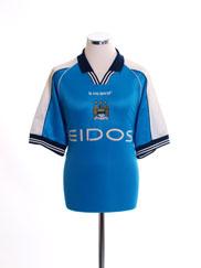1999-01 Manchester City Home Shirt M