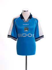 1999-01 Manchester City Home Shirt XL