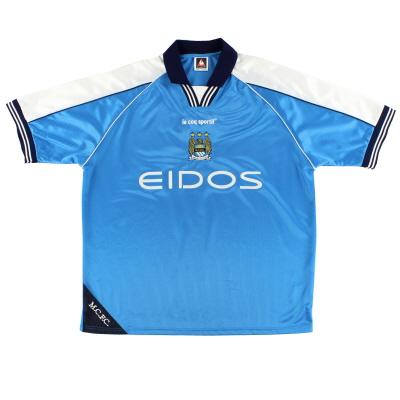 1999-01 Manchester City Home Shirt XL