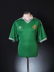 1999-01 Northern Ireland Home Shirt XL