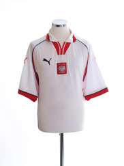 1999-01 Poland Home Shirt XL