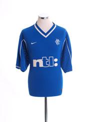 1999-01 Rangers Home Shirt L