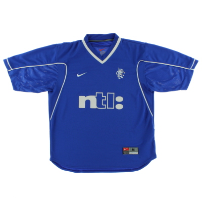1999-01 Rangers Home Shirt M