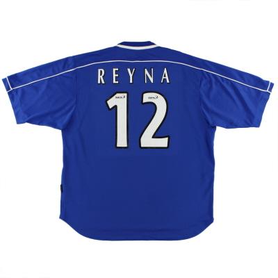 1999-01 Rangers Home Shirt Reyna #12 XL