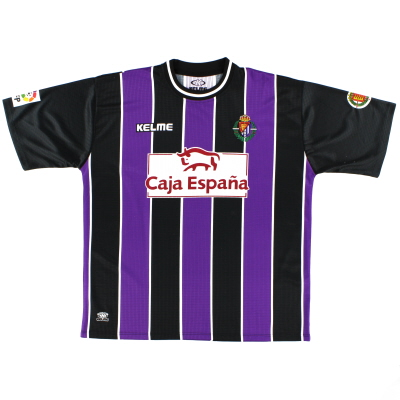 1999-01 Real Valladolid Away Shirt XL
