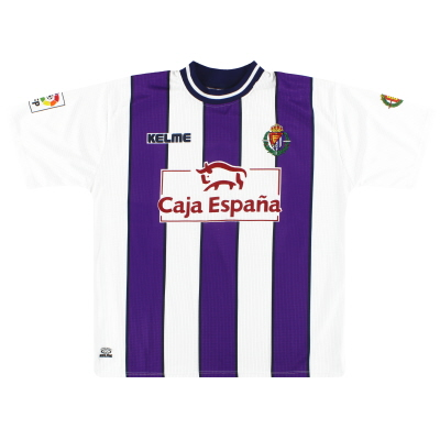 1999-01 Real Valladolid Kelme Home Shirt L