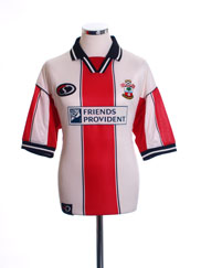 1999-01 Southampton Home Shirt *As New* L