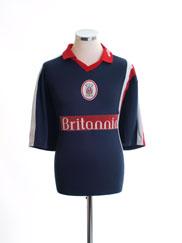 1999-01 Stoke City Away Shirt L